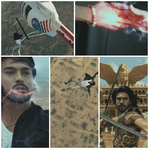 Magadheera - The Flashback Fall